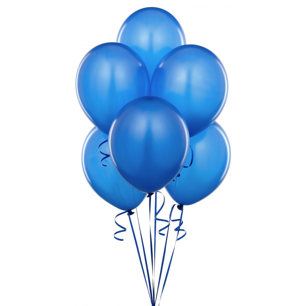 12inch blue latex balloon for party decoration syinflate