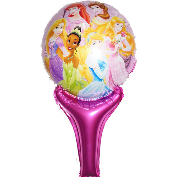 Princesses Handheld Foil Balloon Toy