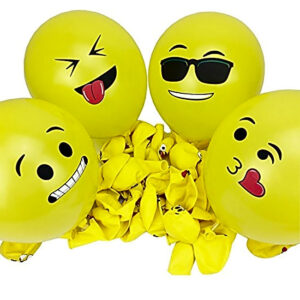 Emoji Balloon Smiley Face Latex