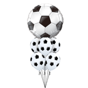 Football Balloon Bouquet Foil Latex