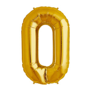 Giant Number Birthday Balloon Party Foil 40 Inches