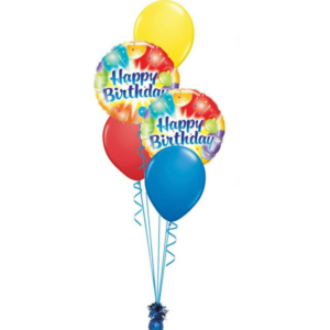 Happy-Birthday Helium Balloon Bouquet