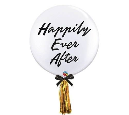 Happily ever after personalized wedding balloon Kenya
